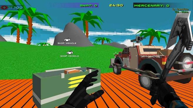 射击风暴车战争无限金币版1.15最新版截图1