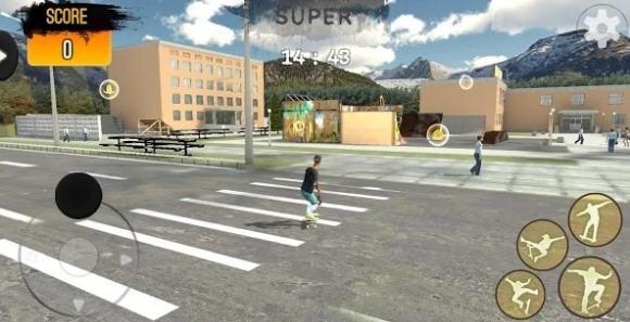 自由式极限滑板特别改动版1.0安卓版截图1