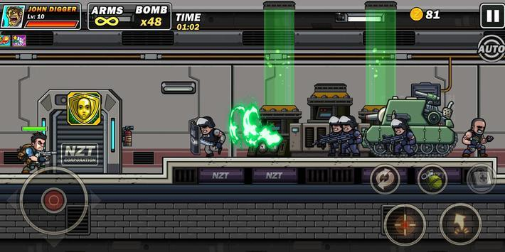 金属射击超级士兵官方中文版最新版1.4.0截图2