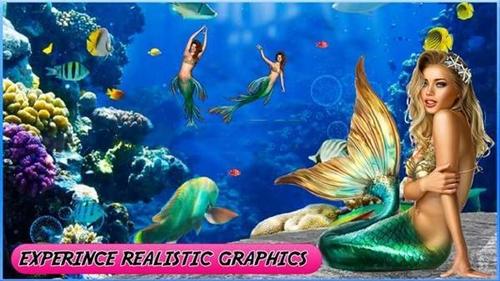海底美人�~世界3d游��o�V告版2.8最新版截�D3