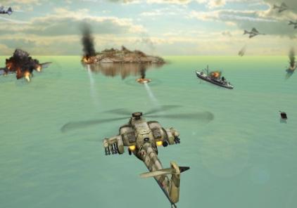 直升机空袭解锁版1.2.2破解版截图0