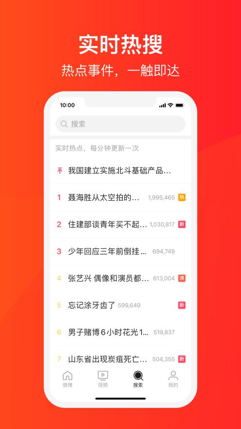 微博大字版appV1.0.1 iOS手机版截图1