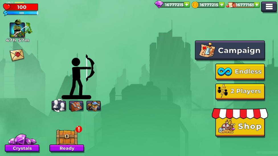 弓箭手2破解版游戏v1.6.7.0.1正式版截图1