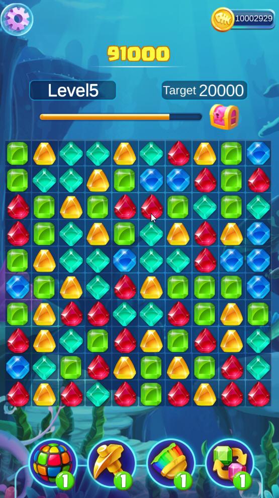 疯狂的宝石游戏破解版v1.0.6安卓版截图0