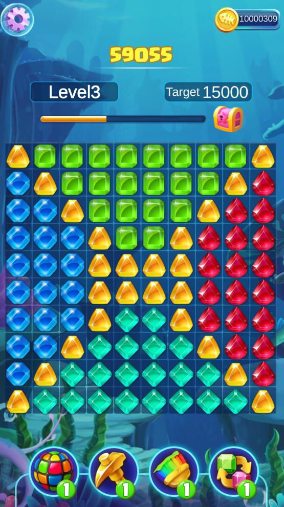 疯狂的宝石游戏破解版v1.0.6安卓版截图2