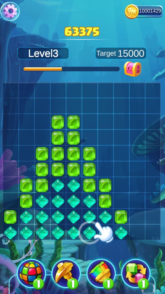 疯狂的宝石游戏破解版v1.0.6安卓版截图3